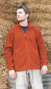 click here to view products in the Full Zip Fleece category