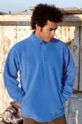 click here to view products in the Half Zip Fleece category