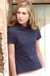 click here to view products in the Ladies Polo Shirt category
