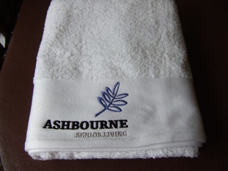 click here to view products in the Hand Towel - Embroidered Company Logo  category