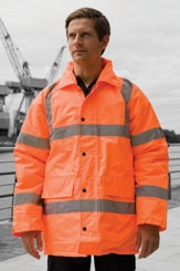 click here to view products in the Hi-Vis Motorway Coat category