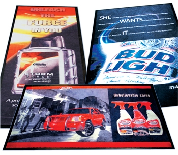 click here to view products in the PROMOTION LOGO MAT - 85cm x 150cm category