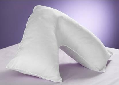 click here to view products in the Flame Retardant V-Shaped Pillow category