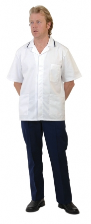 click here to view products in the Mens Tunic - Short Sleeved  category