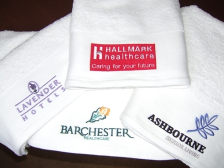 click here to view products in the Towels - With embroidered Logos category